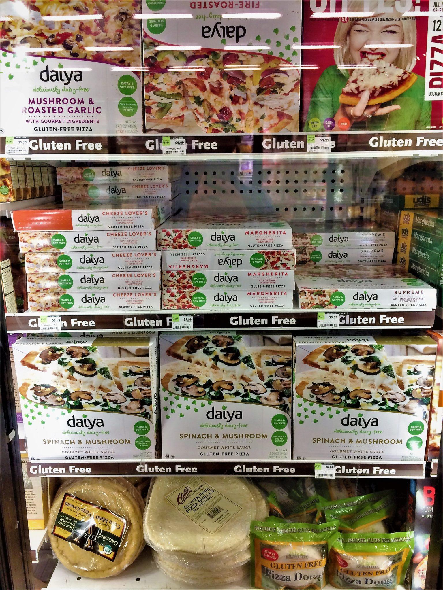 Vegan freezer section, Whole foods, los angeles