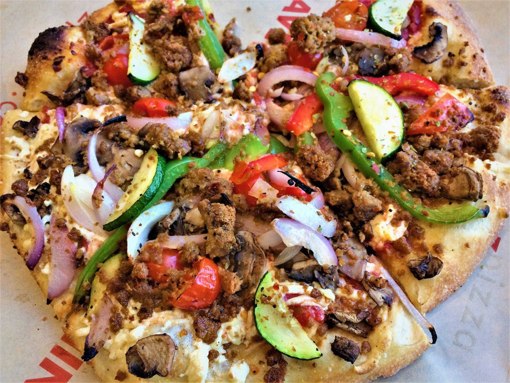 Vegan pizza in los angeles, west hollywood Zpizza vegan food in los angeles
