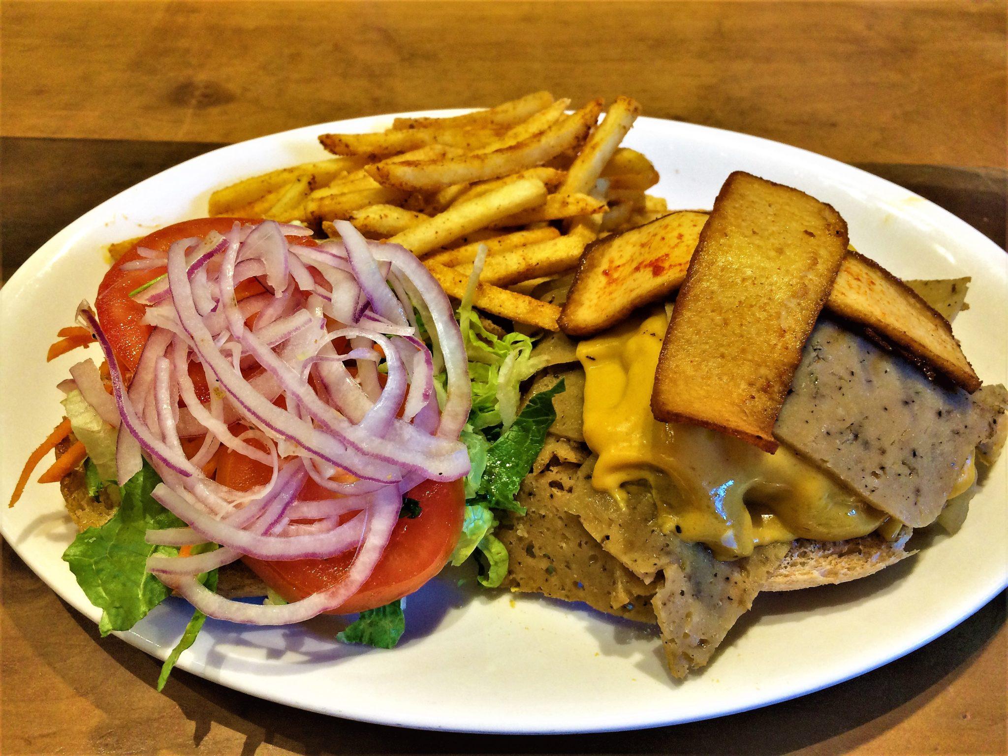 Vegan sandwich at Native food cafe, Palm Springs, California