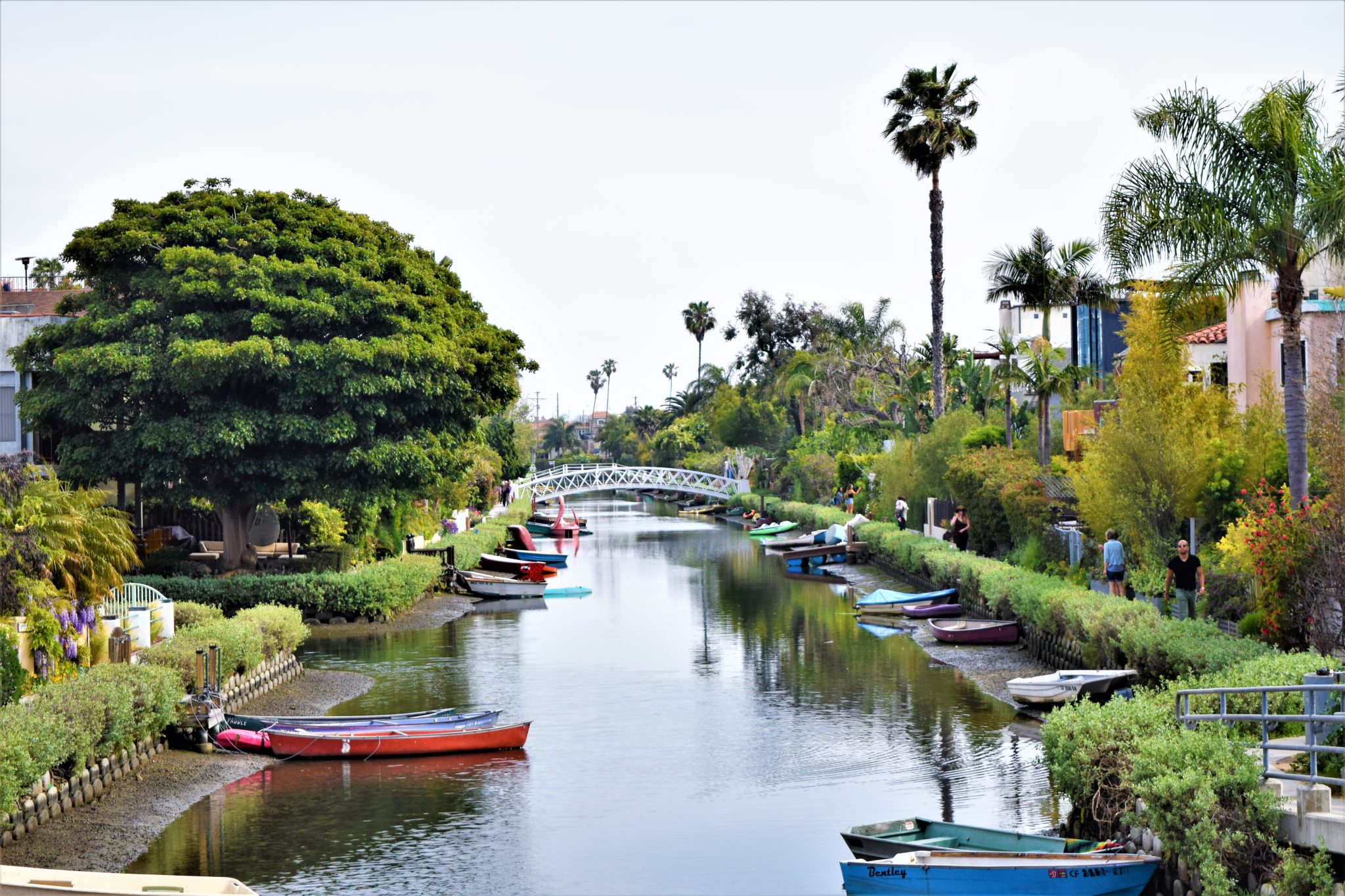 Venice canals, free things to do in los angeles