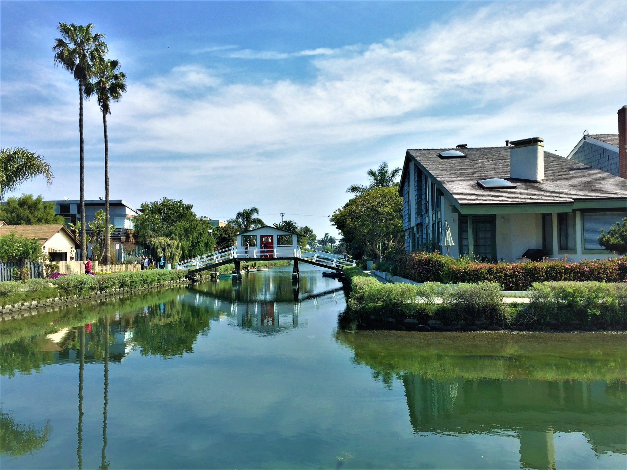 Venice canals, top free things to do in los angeles
