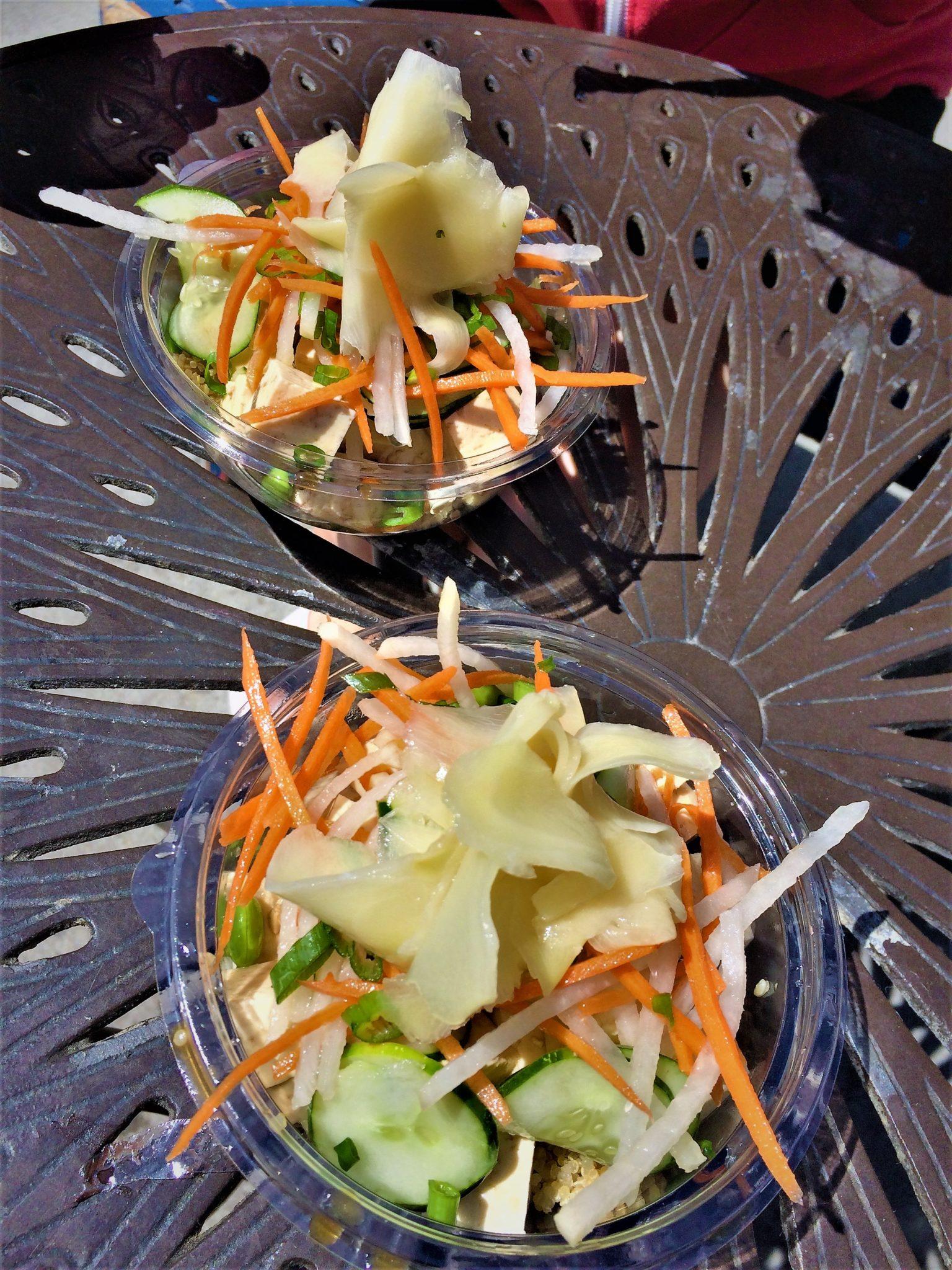 Venice vegan food, poke bowls, original poke store, vegan food in los angeles
