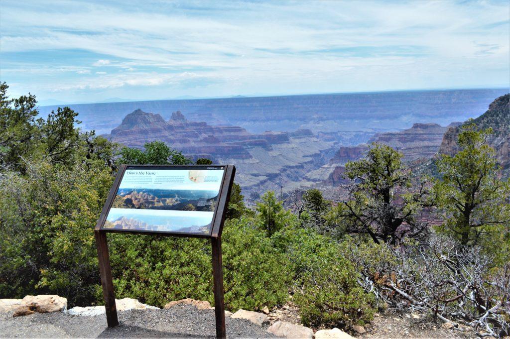 View Point Grand Canyon North Rim National Park