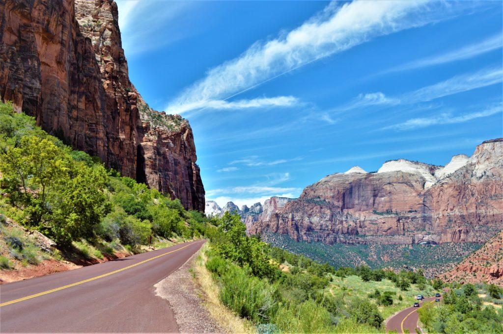 Zion Canyon, National Park, Utah