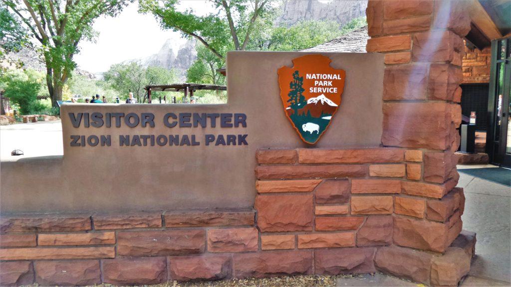 Zion National Park's visitors center