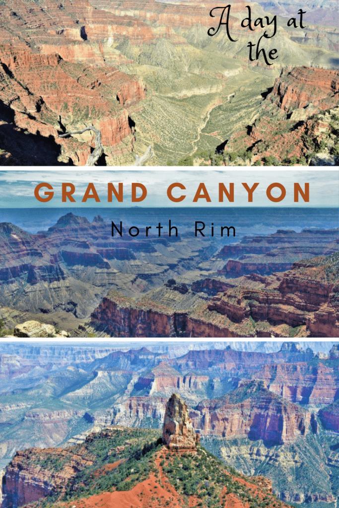 A day at Grand Canyon North Rim, Arizona
