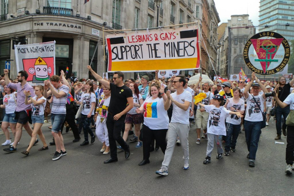 Pride miners collaboration, Pride the movies, top gay movies