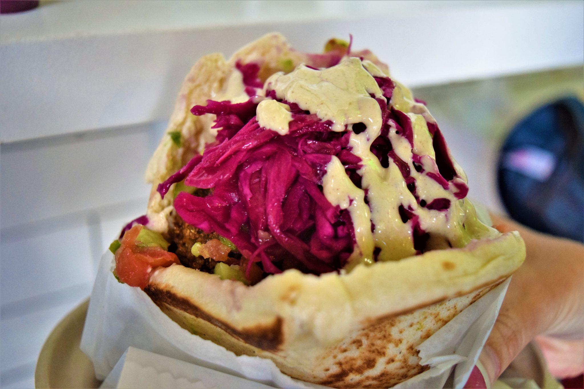 vegan burrito at Fala Bar, los angeles
