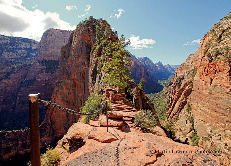 angels landing trail zion national park