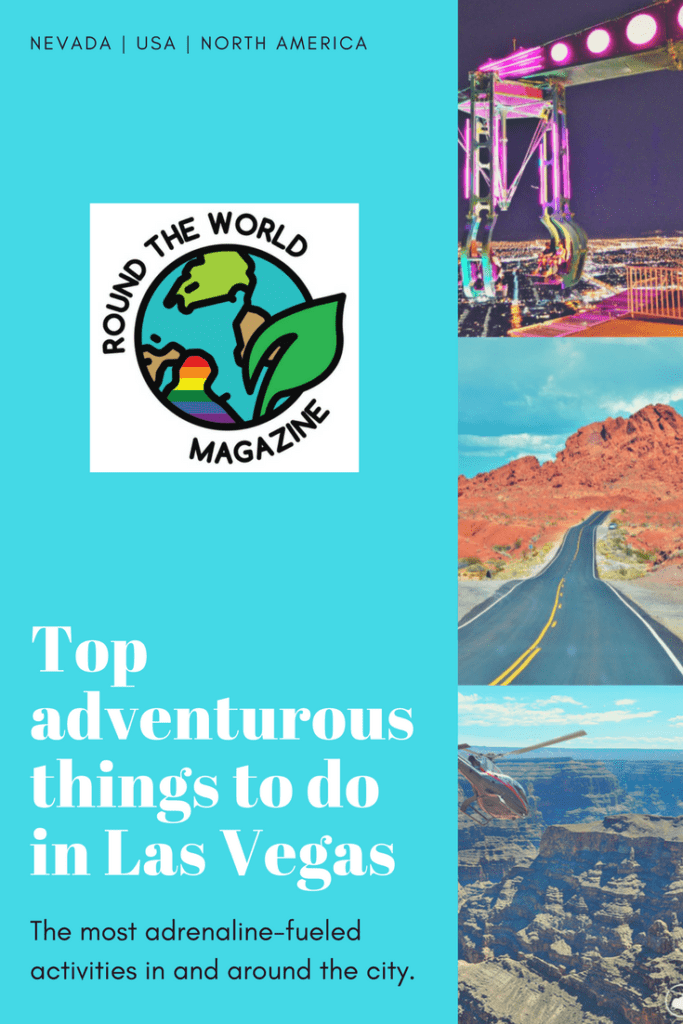 Adventurous things to do in Las Vegas