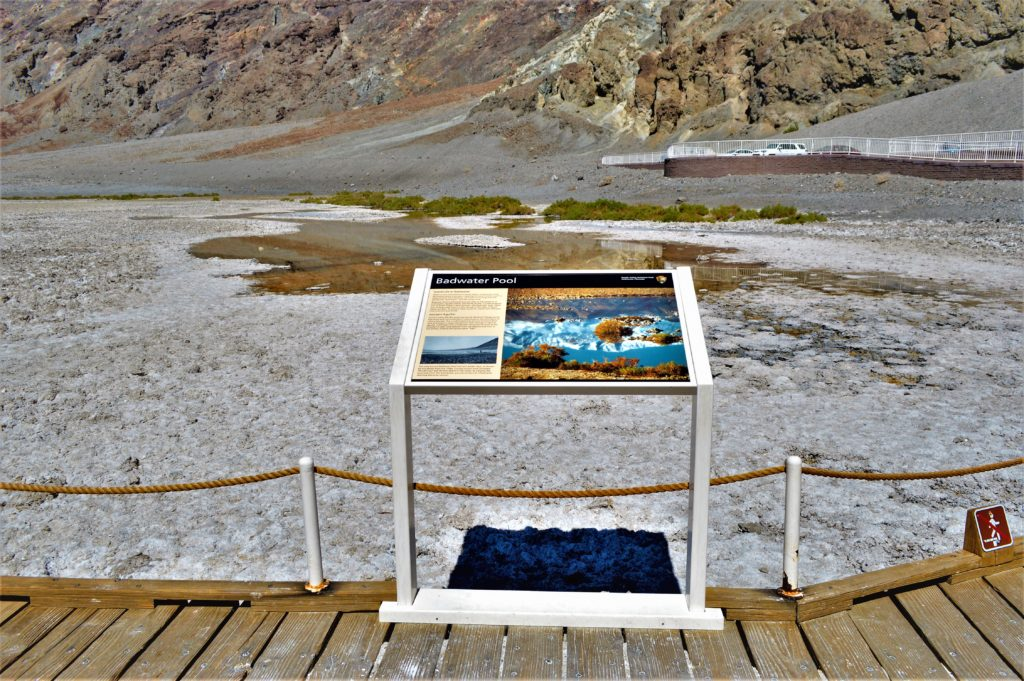 Badwater Pool, death valley national park, usa