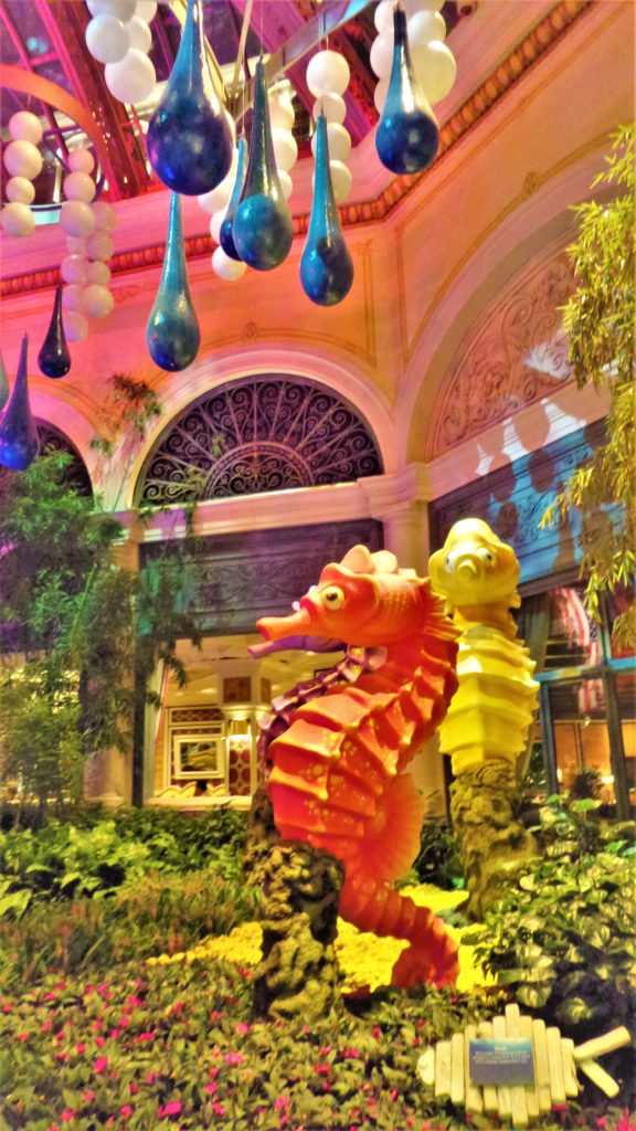Bellagio flower show, las vegas