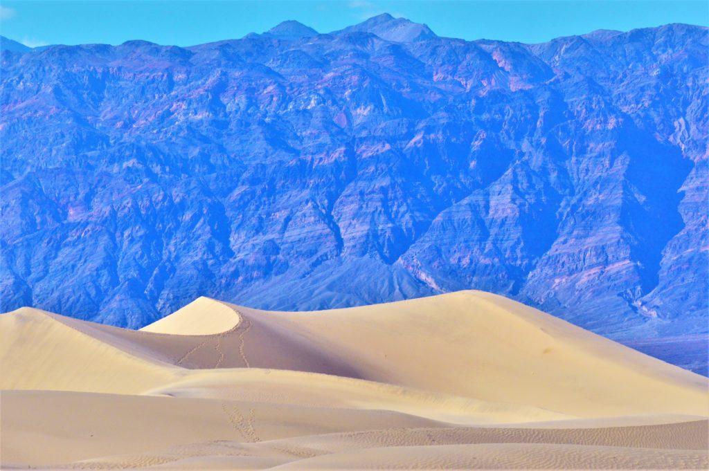 Close up mesquite sand flats, death valley national park, usa