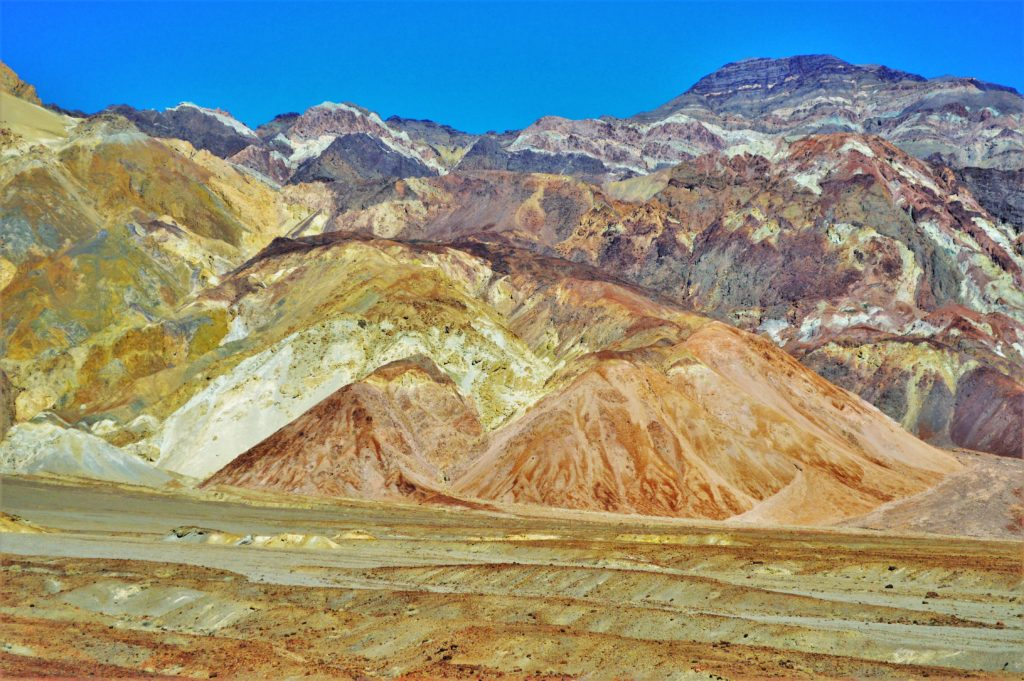 Colourful mountains, artist drive, death valley national park