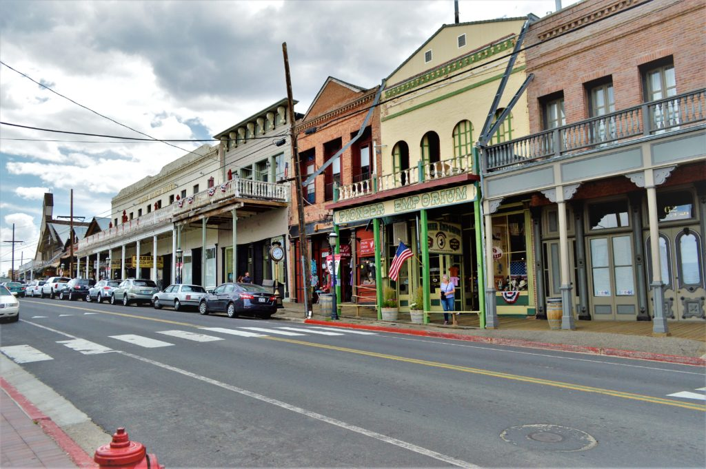 Street at Virginia City, Nevada