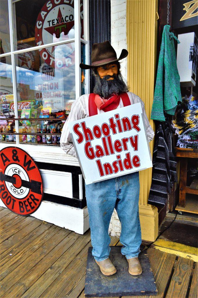 Shooting  Gallery, Virginia City, Nevada