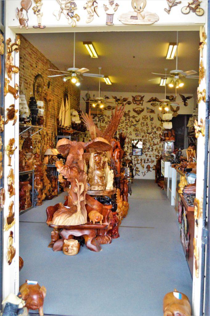 Wood work shop, Virginia City, Nevada
