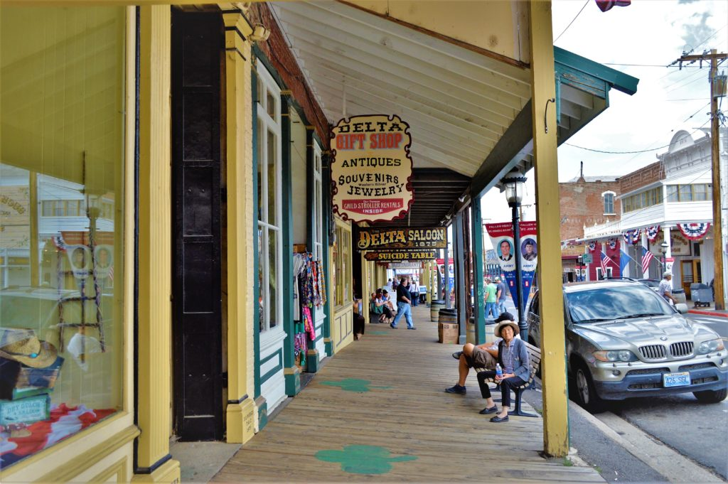 Boardwalk on street, Things to do in Virginia City, Nevada