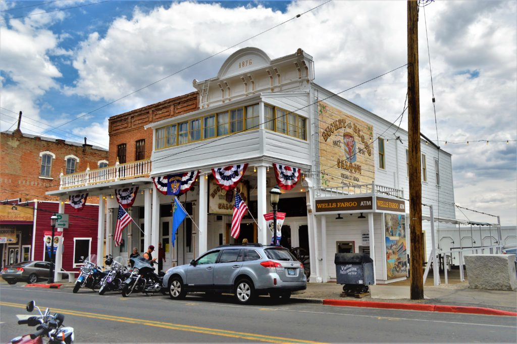 Saloon on street, Things to do in Virginia City, Nevada