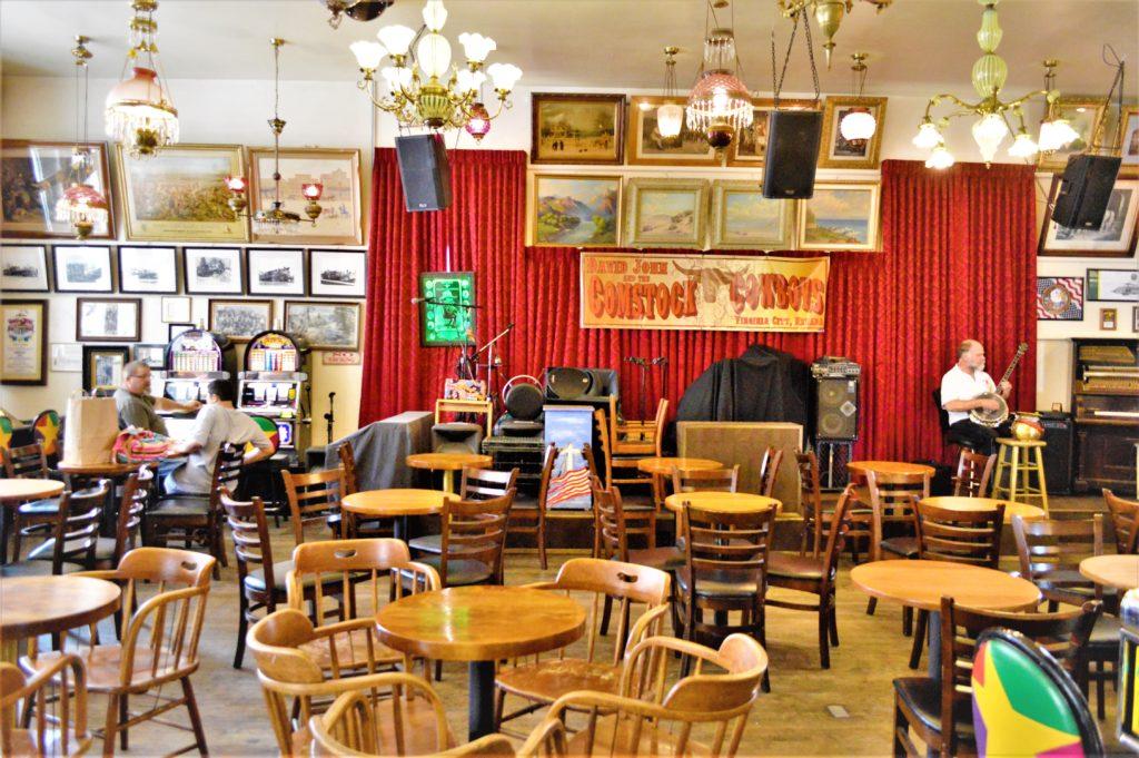 Inside Red Dog Saloon, Virginia City, Nevada
