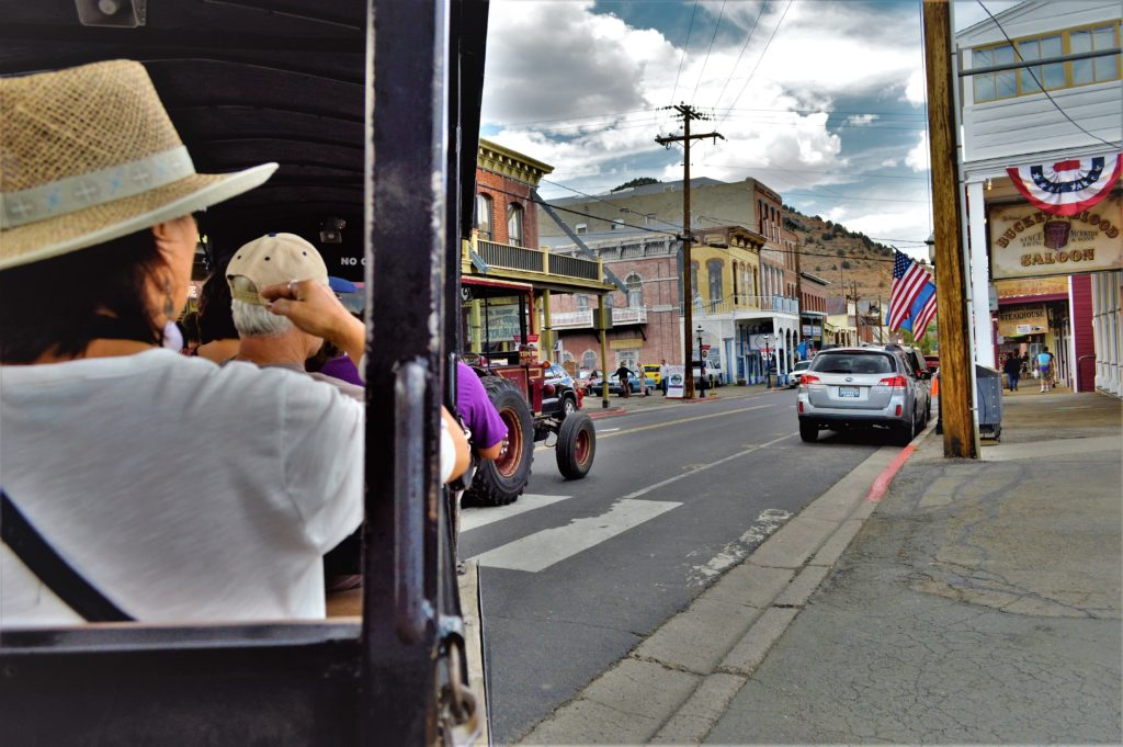 Trolly tour, Virginia City, Nevada