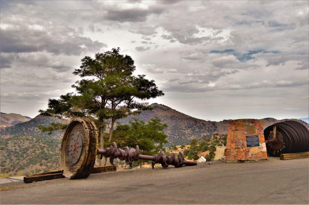 Wheel part, Virginia City, Nevada