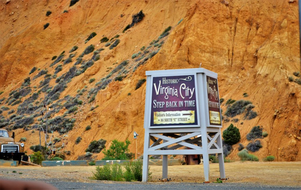 Virginia City Sign, Things to do in Virginia City, Nevada