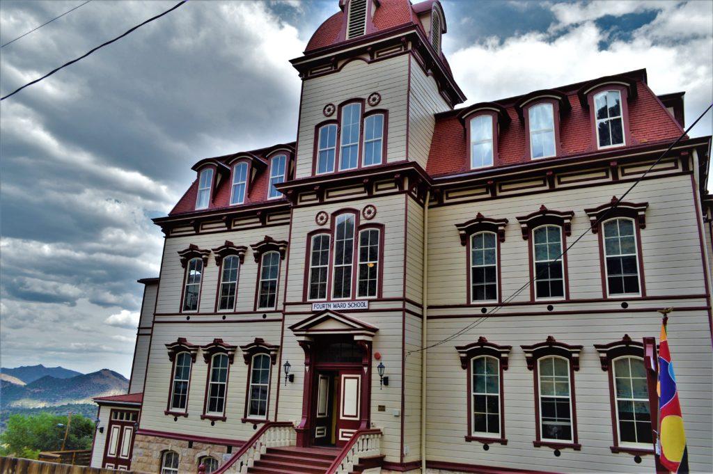 Fourth Ward School, Virginia City, Nevada
