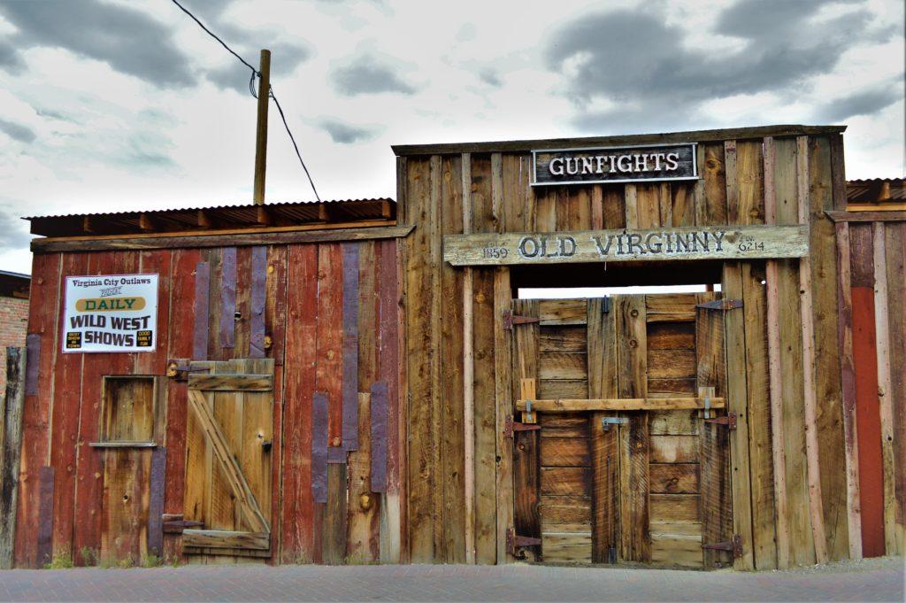 Gunfights, Virginia City, Nevada