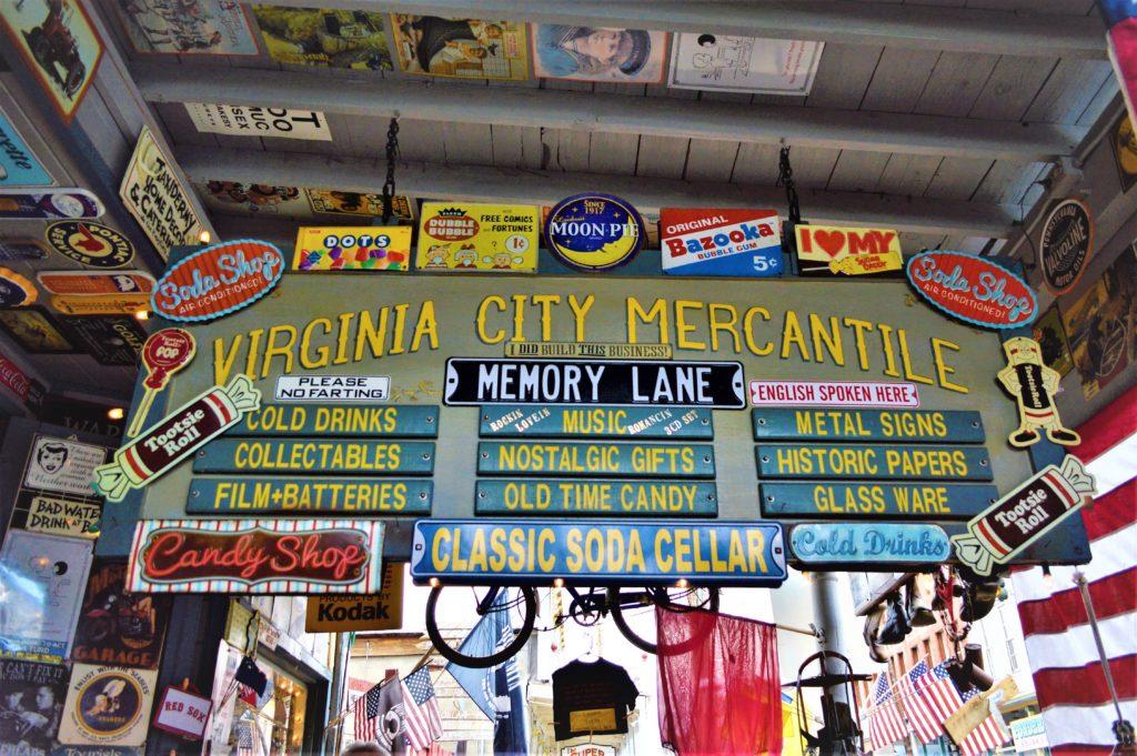 Virginia City Mercentile, nevada
