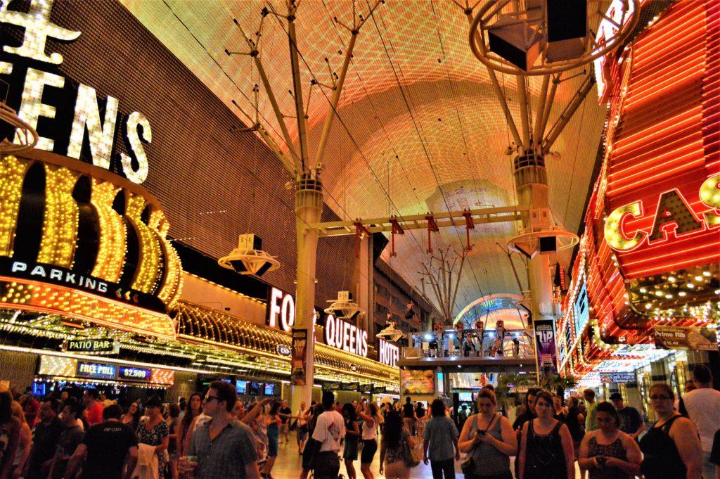 Four Queens Casino, fremont street, las vegas