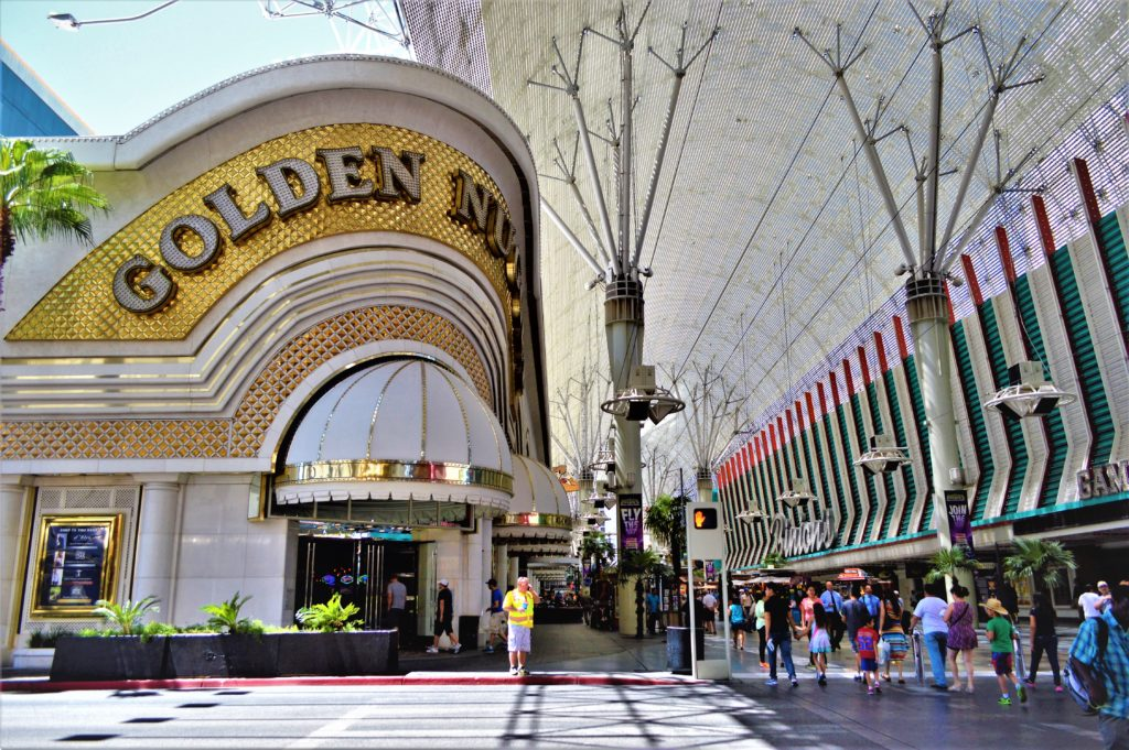 Golden Nugget, Fremont Street, Las Vegas, Nevada