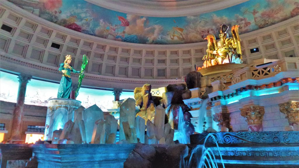 God of Atlantis show, Caesars palace, las vegas