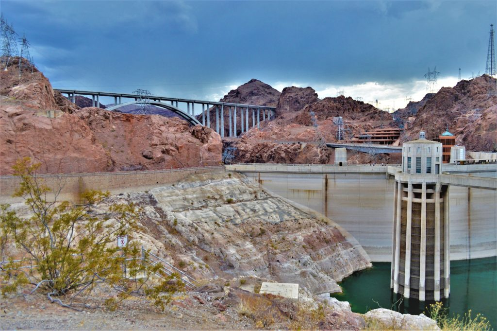 Hoover Dam lake mead recreation area, nevada