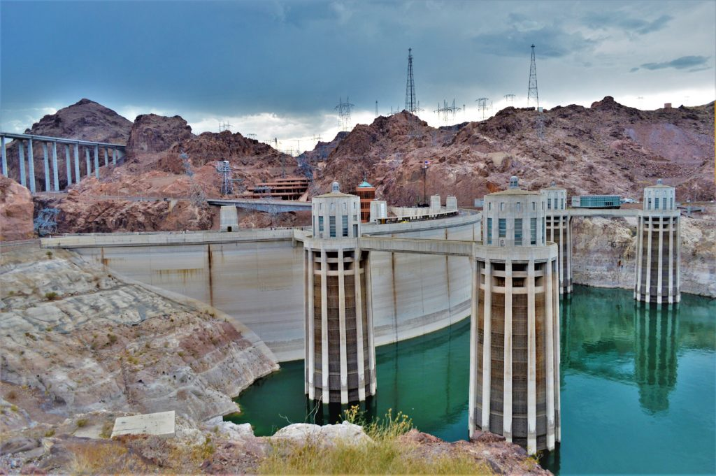 Hoover Dam, las vegas road trip, lake mead