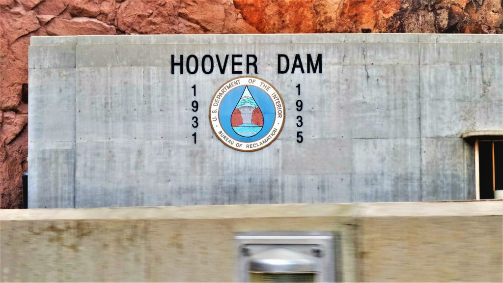 Hoover dam sign 1931, las vegas nevada