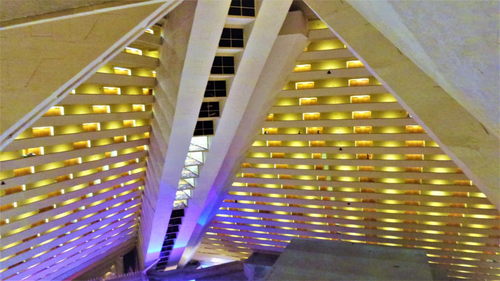 Inside the Luxor Hotel, Las Vegas