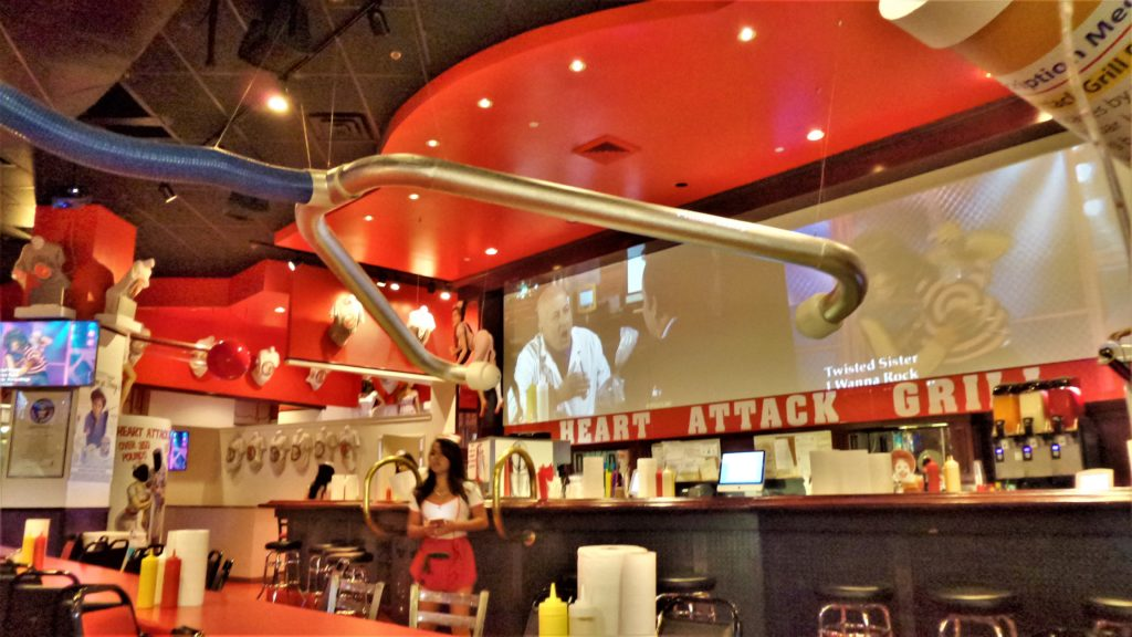 Inside the heart attack grill, las vegas