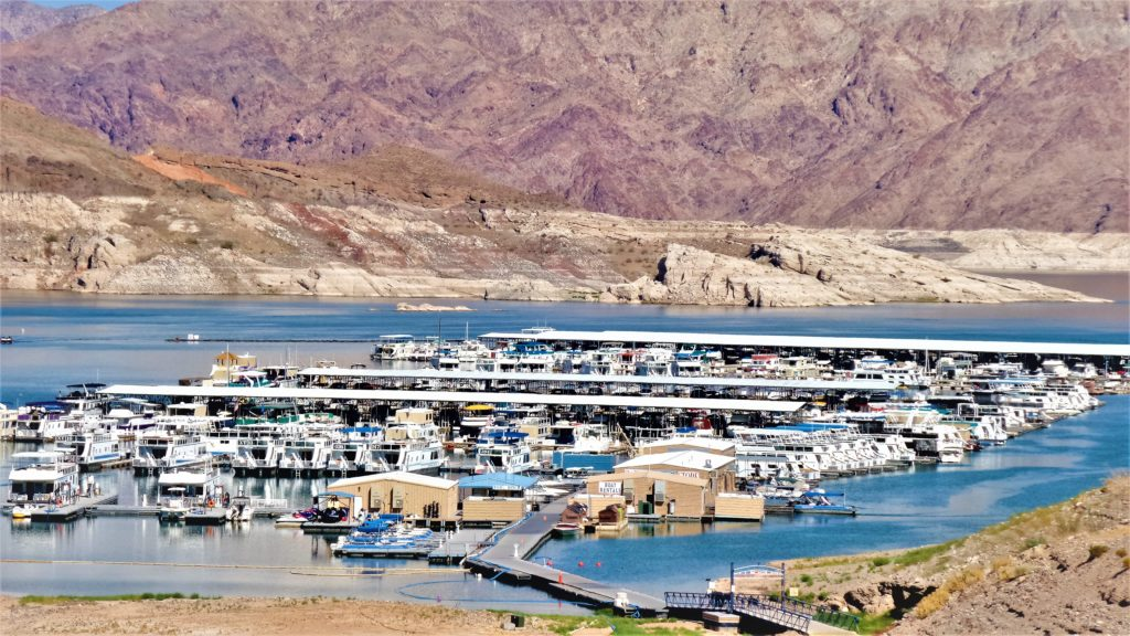 Lake Mead boat park, las vegas, Nevada