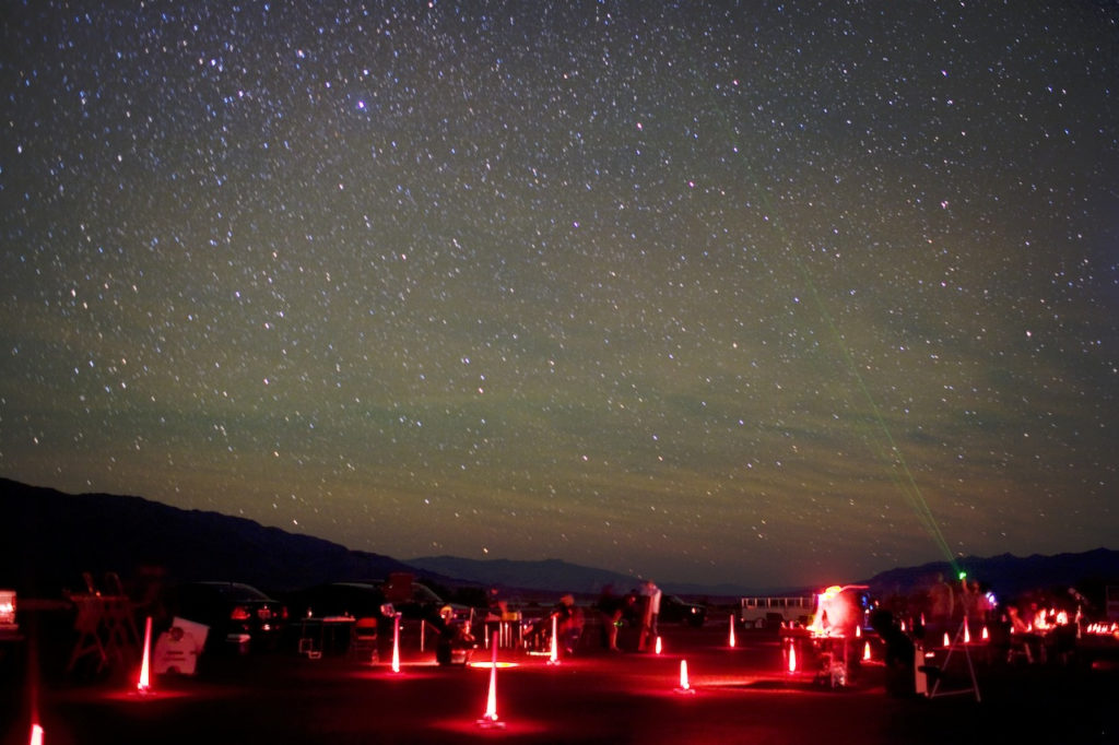 Star Gazing in death valley national park