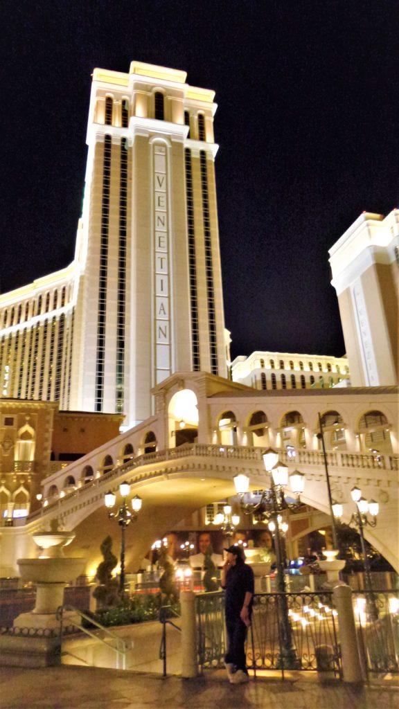 Rialto bridge replica, venetian hotel, las vegas