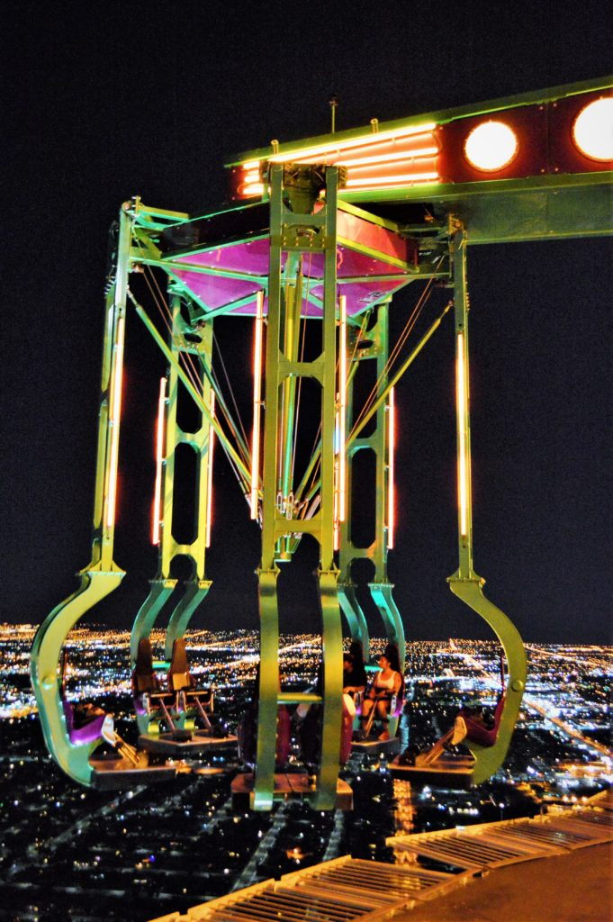 Rides at the top of the Stratosphere, las vegas