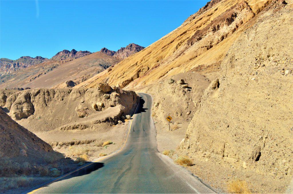 Road trip through death valley, usa