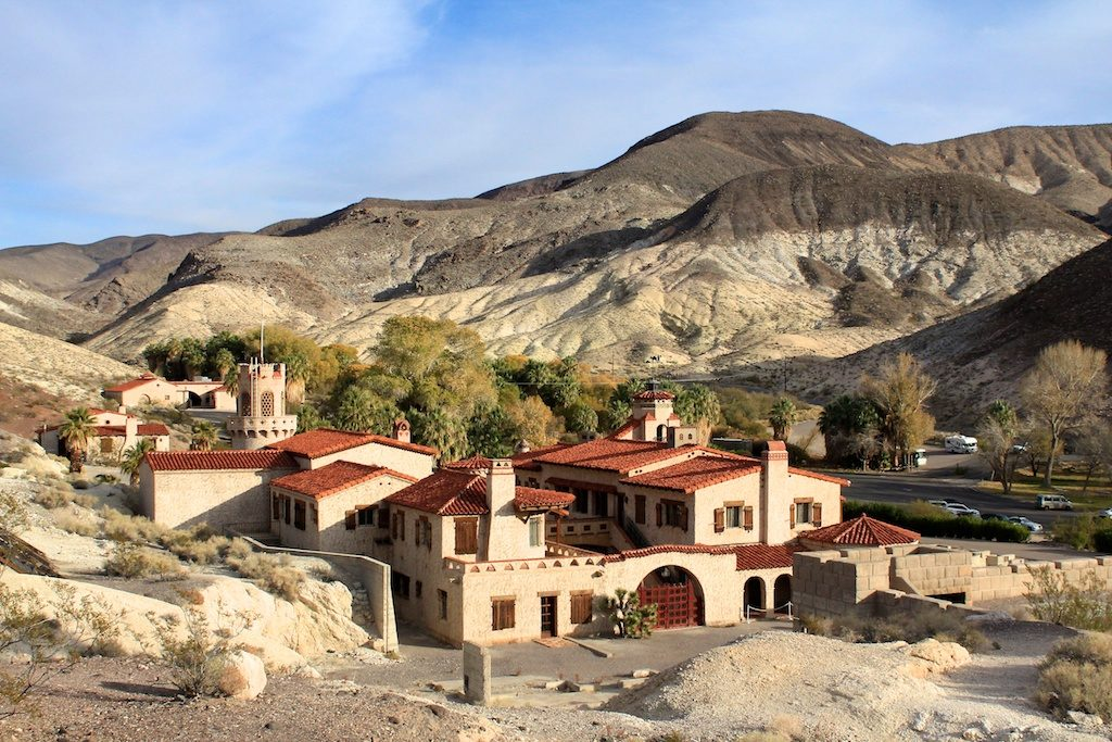 Scotty's Castle Death Valley National Park tours