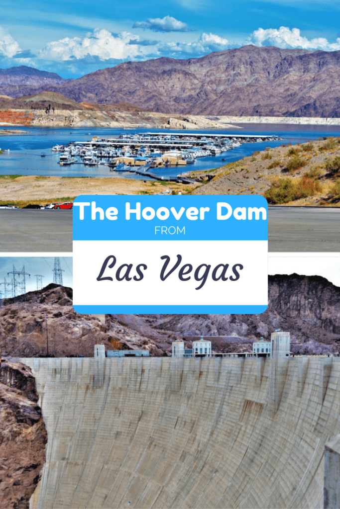 The Hoover Dam from Las Vegas