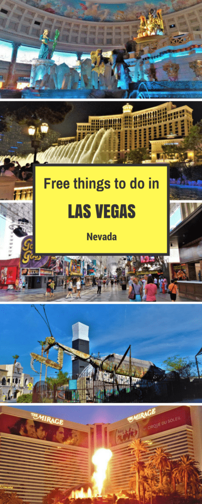 Top free things to do in Las Vegas, Nevada