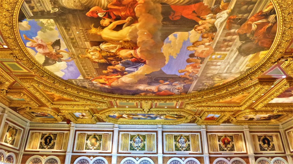 Venetian hotel ceiling, las vegas