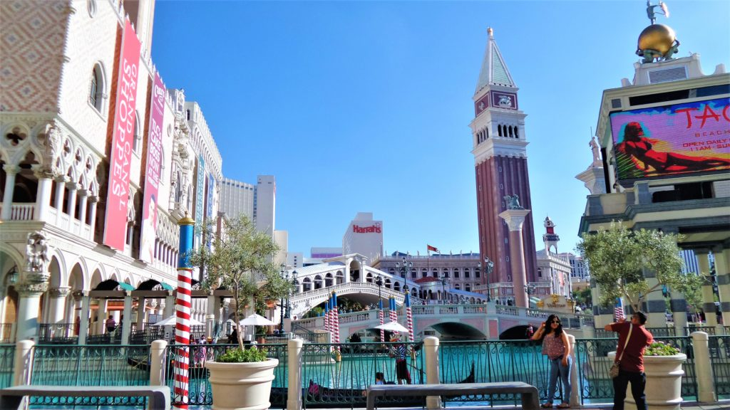 Venetian hotel day time, las vegas