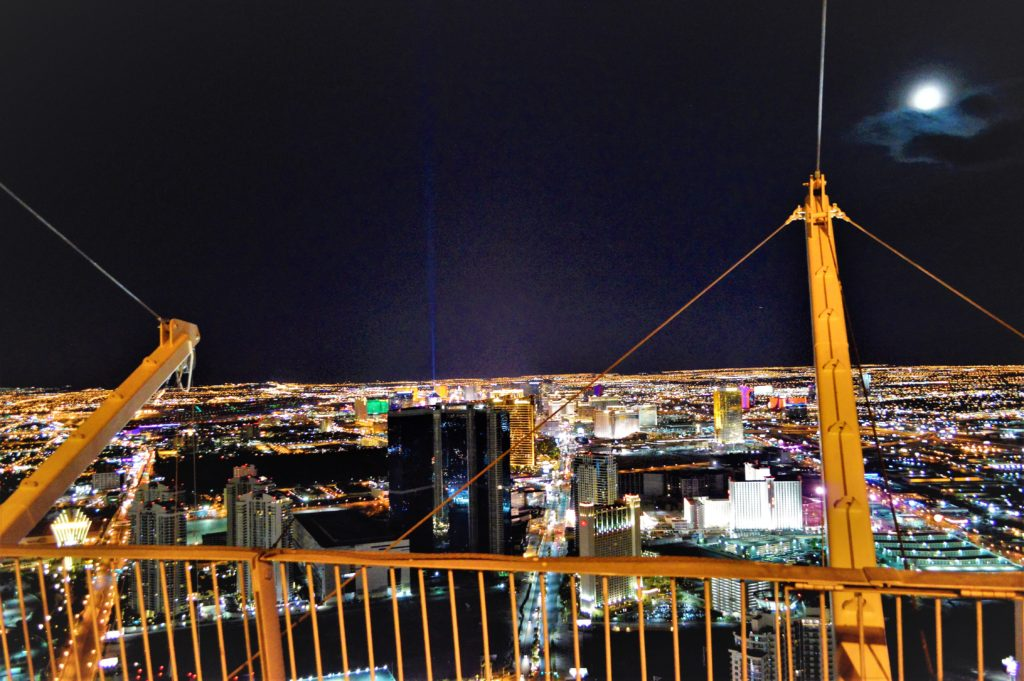 View of the strip from Stratosphere, las vegas, navada