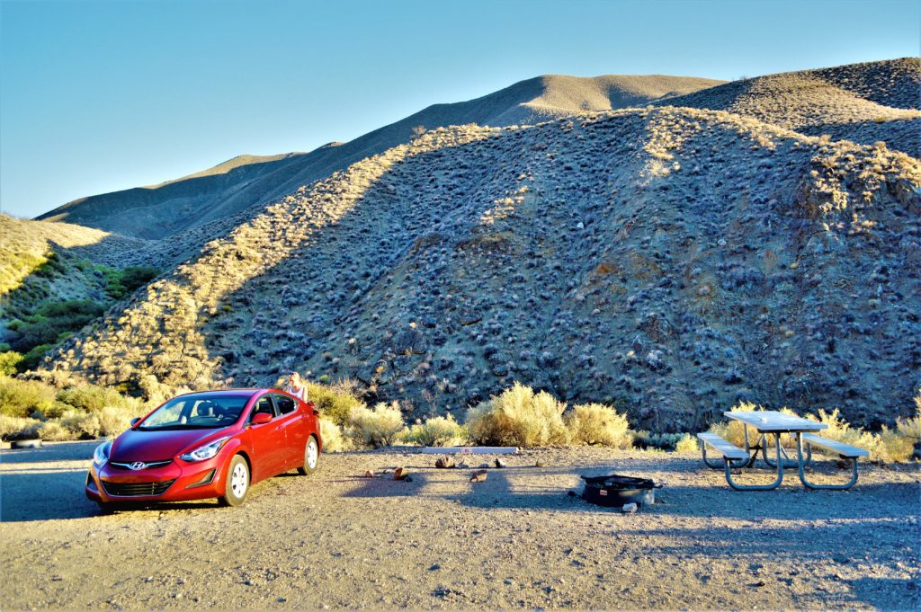 Wildrose campground, death valley national park